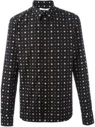 рубашка с мелким узором Givenchy