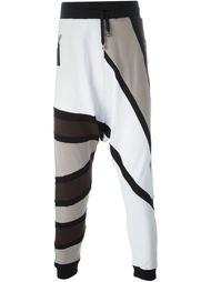 спортивные брюки колор-блок  Unconditional