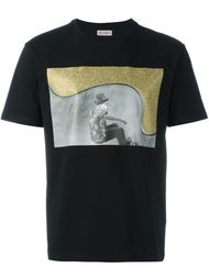 футболка с принтом скейтбордиста Palm Angels