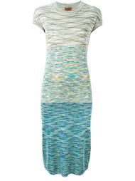 облегающее трикотажное платье Missoni Vintage