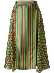 юбка в полоску  Marco De Vincenzo