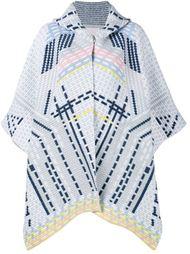 трикотажное пальто с геометрическим узором Peter Pilotto