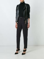 брюки в полоску Versace Vintage