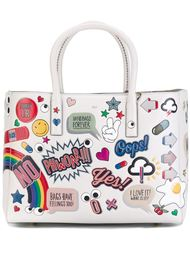 сумка-тоут 'All Over Stickers'  Anya Hindmarch