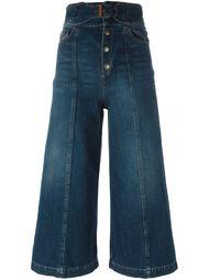 джинсовые кюлоты Red Valentino