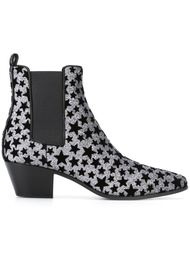 ботинки по щиколотку 'Rock 40'  Saint Laurent