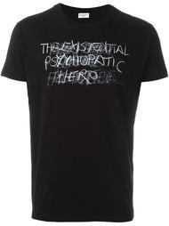 рубашка 'Hermetic Psychedelic Existence' Saint Laurent