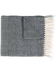 шарф в полоску Eleventy
