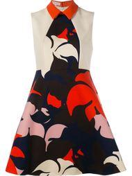платье с цветочным принтом   Delpozo