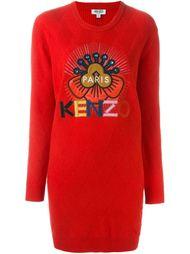 вязаное платье 'Tanami Flower' Kenzo