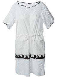 платье с перфорированным дизайном Tsumori Chisato