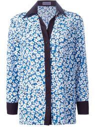 рубашка с цветочным принтом   Emanuel Ungaro