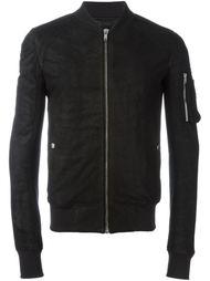 куртка-бомбер с карманом на рукаве Rick Owens