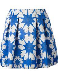 плиссированная юбка 'Connor' с принтом Alice+Olivia
