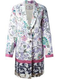 пальто в цветочный принт  Etro