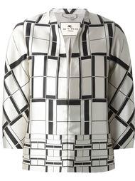 куртка с геометрическим принтом Etro