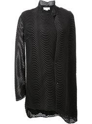 драпированное платье-кейп Esteban Cortazar