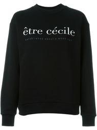 толстовка с логотипом  Être Cécile