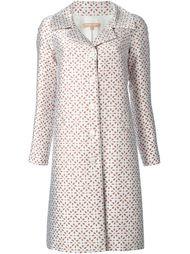 жаккардовое пальто с цветочным узором  Michael Kors
