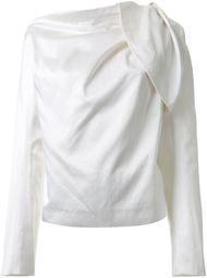 драпированная блузка с длинными рукавами Haider Ackermann