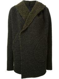 пиджак свободного кроя с капюшоном Forme D'expression