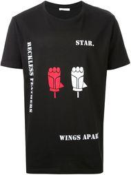 футболка с графическим принтом Aganovich