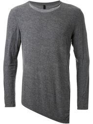 свитер с асимметричным подолом Forme D'expression