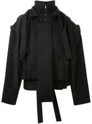 укороченная куртка из неопрена с ремешками Craig Green