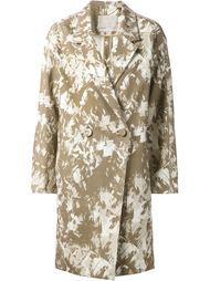 объёмное пальто с принтом  Jason Wu