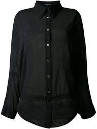 прозрачная рубашка 'Gauche' Ann Demeulemeester