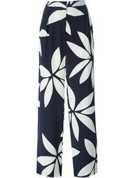 широкие брюки с цветочным принтом Issa