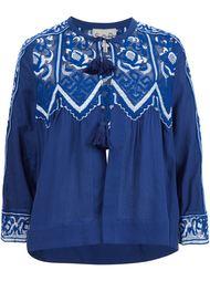 блузка с вышивкой Sea