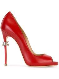 туфли с декорированным кублуком  Dsquared2