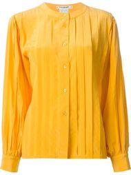 плиссированная рубашка  Guy Laroche Vintage