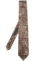 галстук с квадратным узором Etro