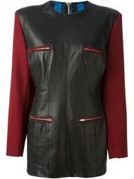 платье с контрастными рукавами Jean Paul Gaultier Vintage