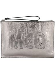 клатч с тиснением логотипа McQ Alexander McQueen