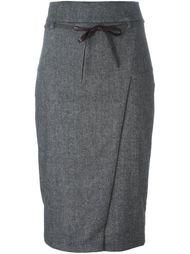 юбка с поясом  Brunello Cucinelli