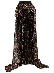 юбка мини с удлиненным шлейфом Faith Connexion