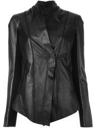 приталенная кожаная куртка 10Sei0otto