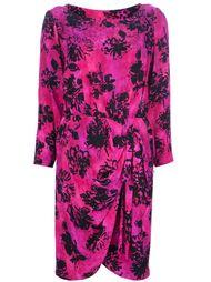 платье с крупным принтом Yves Saint Laurent Vintage