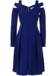 платье с открытыми плечами  Preen By Thornton Bregazzi
