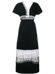 платье с кружевной отделкой  Christopher Kane