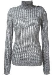 свитер с высоким горлом Balmain
