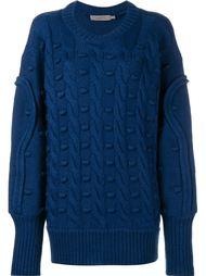 трикотажный свитер свободного кроя Preen By Thornton Bregazzi