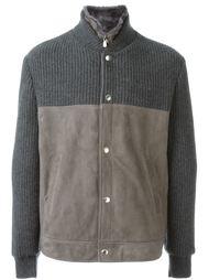 куртка колор-блок  Brunello Cucinelli