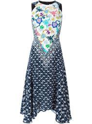 платье с принтом без рукавов  Peter Pilotto