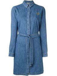 джинсовое платье-рубашка 'Mini Tiger' Kenzo
