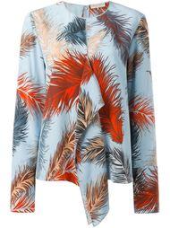 блузка с принтом  Emilio Pucci