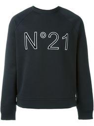 толстовка с принтом логотипа   Nº21